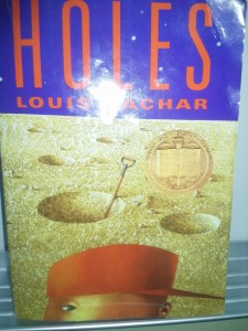 5th graders read Holes over the summer.