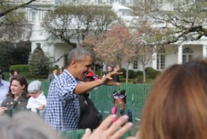 I was so close to the President.